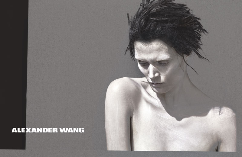 AlexanderWang Spring2013WomensRTW 02 Alexander Wang Releases Teasers for Spring 2013 Campaign Starring Malgosia Bela