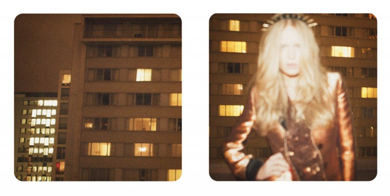 AnnaParis1 800x403 Anna Ewers by Pierre Dal Corso in A Night in Paris for Fashion Gone Rogue