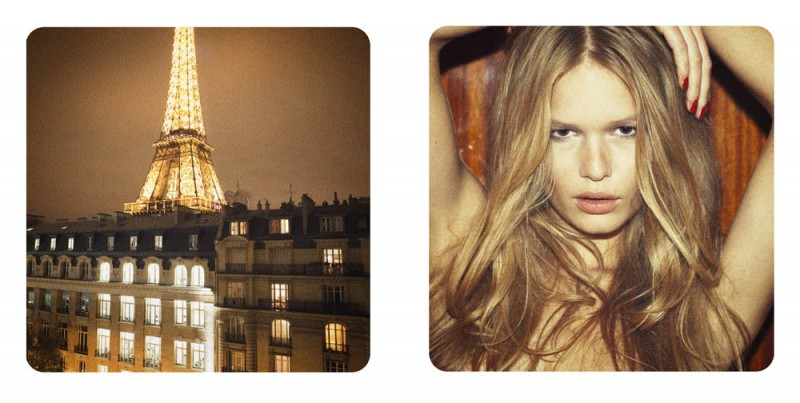 AnnaParis5 800x403 Anna Ewers by Pierre Dal Corso in A Night in Paris for Fashion Gone Rogue