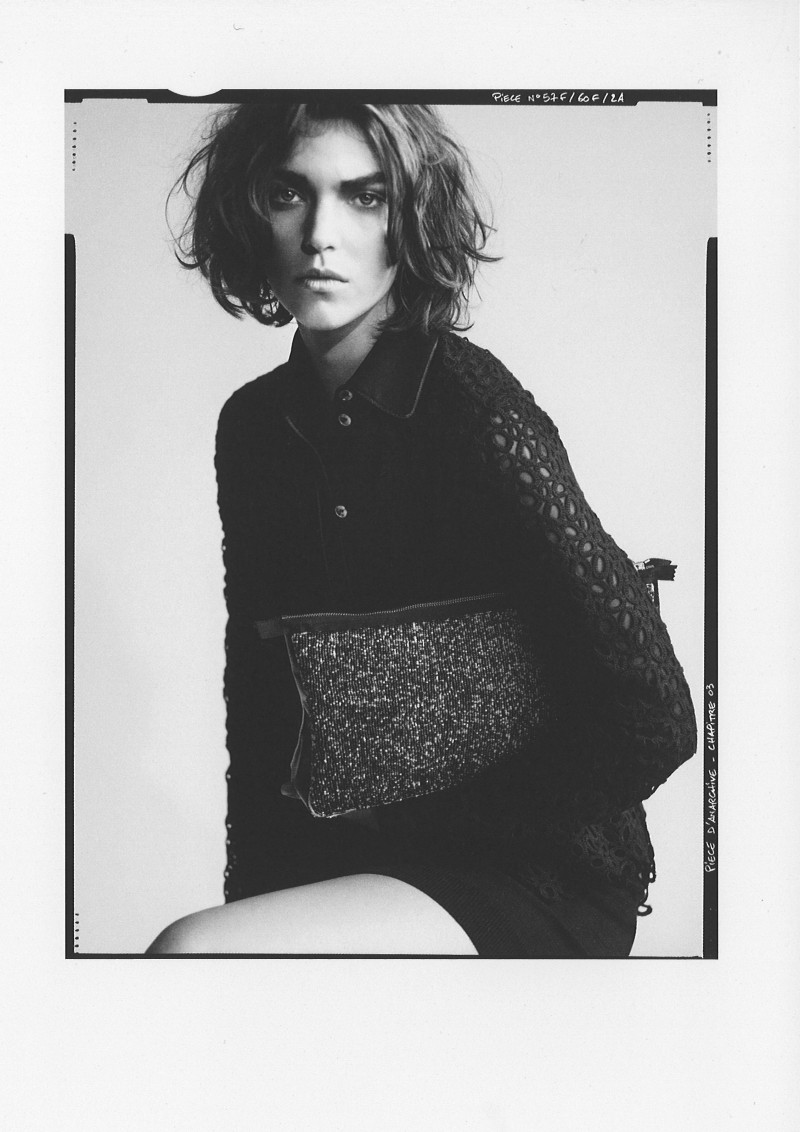 ArizonaPaolo8 Arizona Muse Stars in Pièce d' Anarchives Spring 2013 Campaign by Paolo Roversi