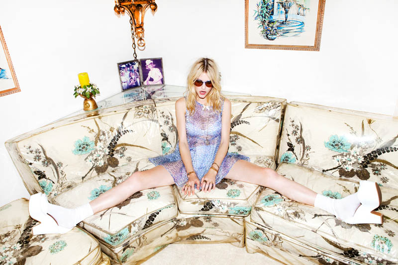 AshleyLoveLB19 Ashley Smith Fronts For Love & Lemons Spring 2013 Campaign