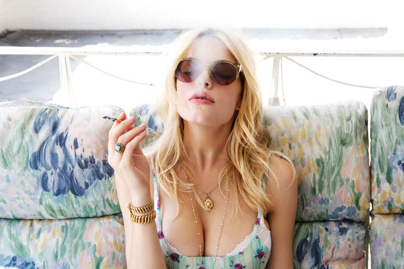 AshleyLoveLB27 Ashley Smith Fronts For Love & Lemons Spring 2013 Campaign