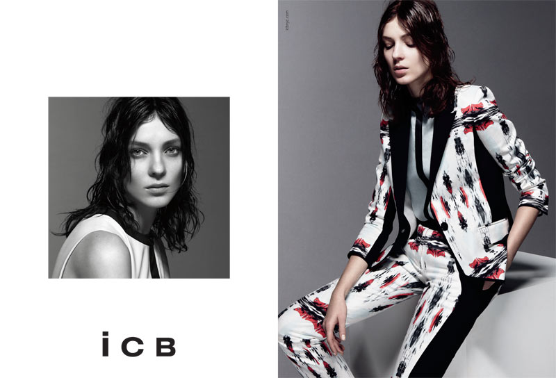 BW ICB US S13 PRESSDP01 Kati Nescher Fronts iCB Spring 2013 Campaign by Daniel Jackson
