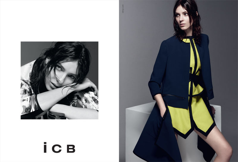 BW ICB US S13 PRESSDP03 Kati Nescher Fronts iCB Spring 2013 Campaign by Daniel Jackson