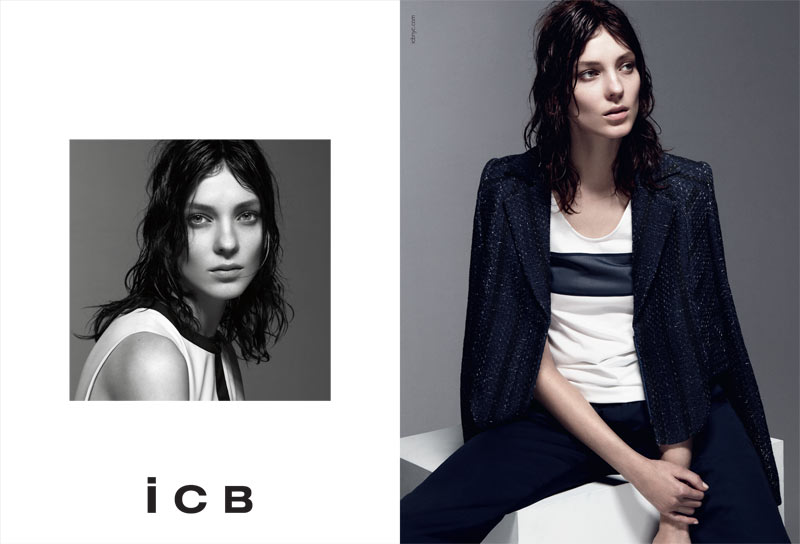 BW ICB US S13 PRESSDP04 Kati Nescher Fronts iCB Spring 2013 Campaign by Daniel Jackson