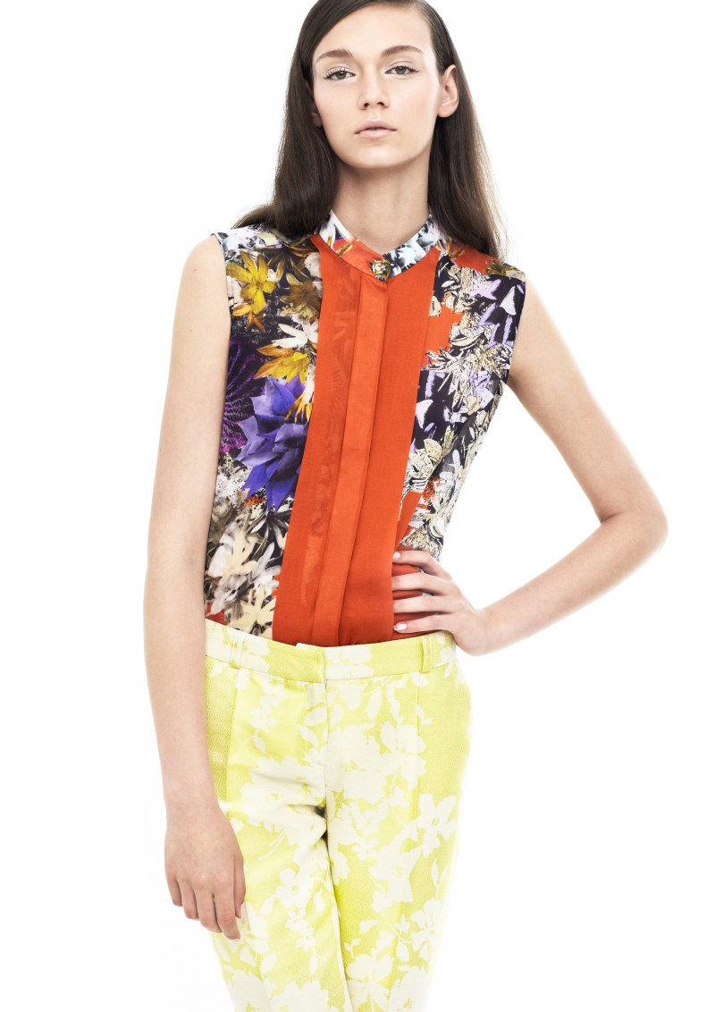 BlameSpring1 Blames Spring 2013 Collection Embraces Vivid Prints