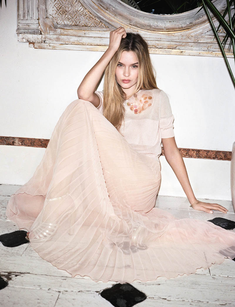 BlugirlSpring1 Blugirl Taps Josephine Skriver for its Spring 2013 Campaign by Angelo Pennetta