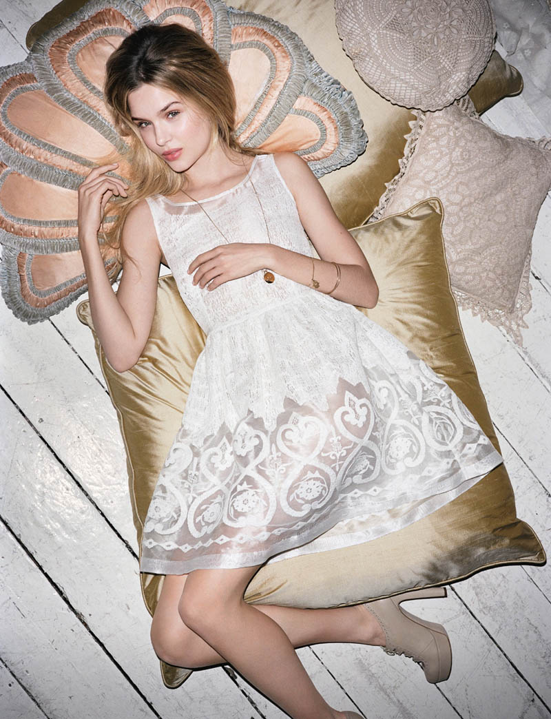 BlugirlSpring4 Blugirl Taps Josephine Skriver for its Spring 2013 Campaign by Angelo Pennetta