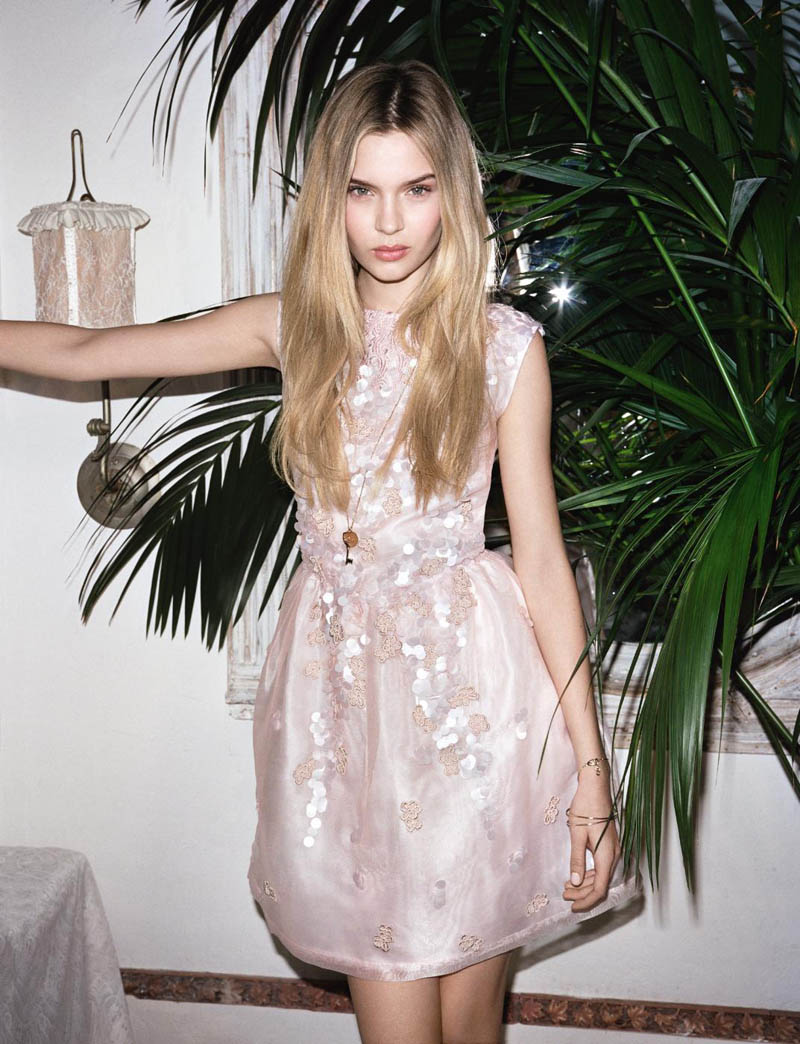 BlugirlSpring7 Blugirl Taps Josephine Skriver for its Spring 2013 Campaign by Angelo Pennetta