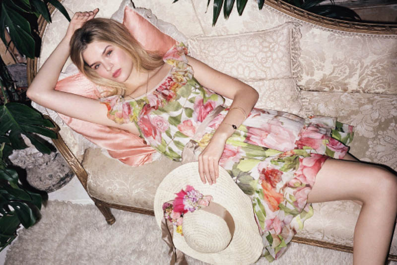 BlugirlSpring8 Blugirl Taps Josephine Skriver for its Spring 2013 Campaign by Angelo Pennetta