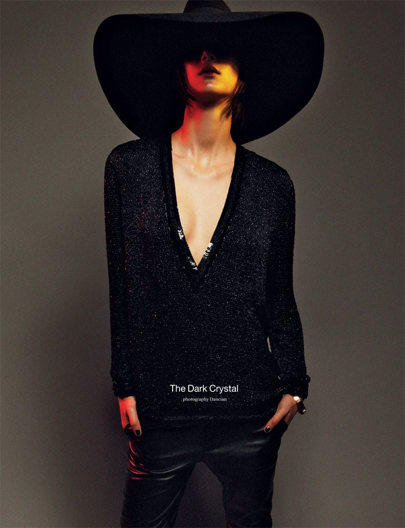 BoDon1 Bo Don Gets Androgynous for Zoo Magazine #37 by Dancian