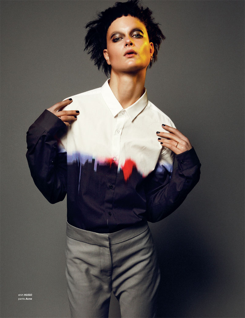BoDon11 Bo Don Gets Androgynous for Zoo Magazine #37 by Dancian