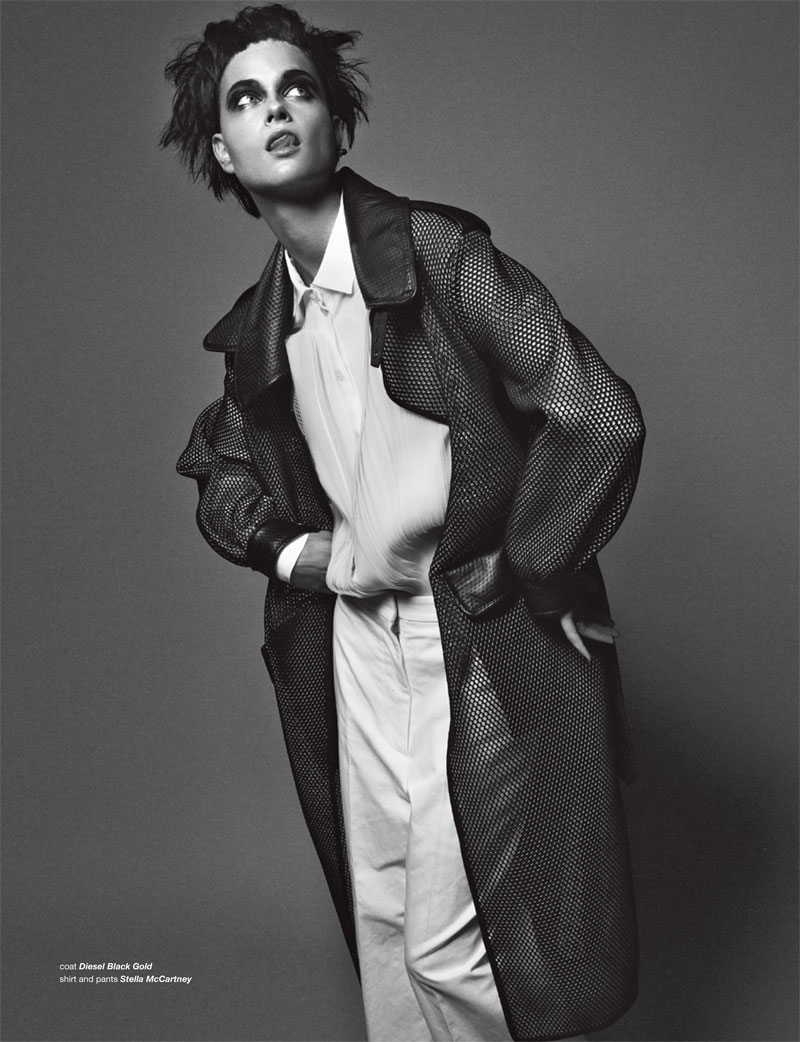 BoDon5 Bo Don Gets Androgynous for Zoo Magazine #37 by Dancian