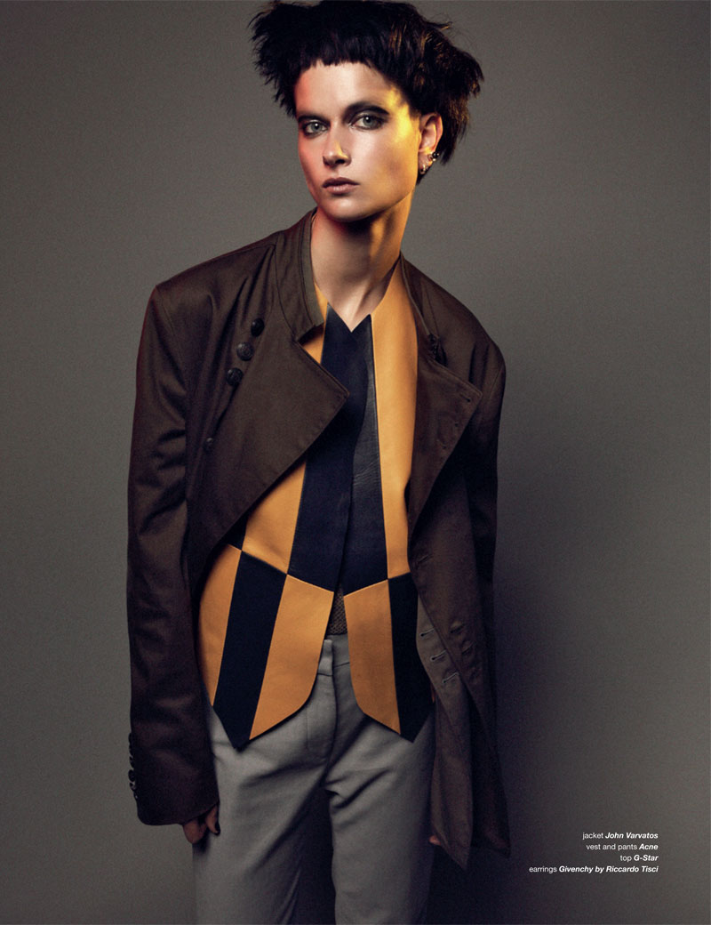 BoDon6 Bo Don Gets Androgynous for Zoo Magazine #37 by Dancian