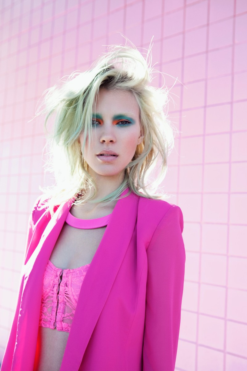 BrittMaren13 Britt Maren Rocks Psychedelic Style for Nasty Gals January 2013 Lookbook