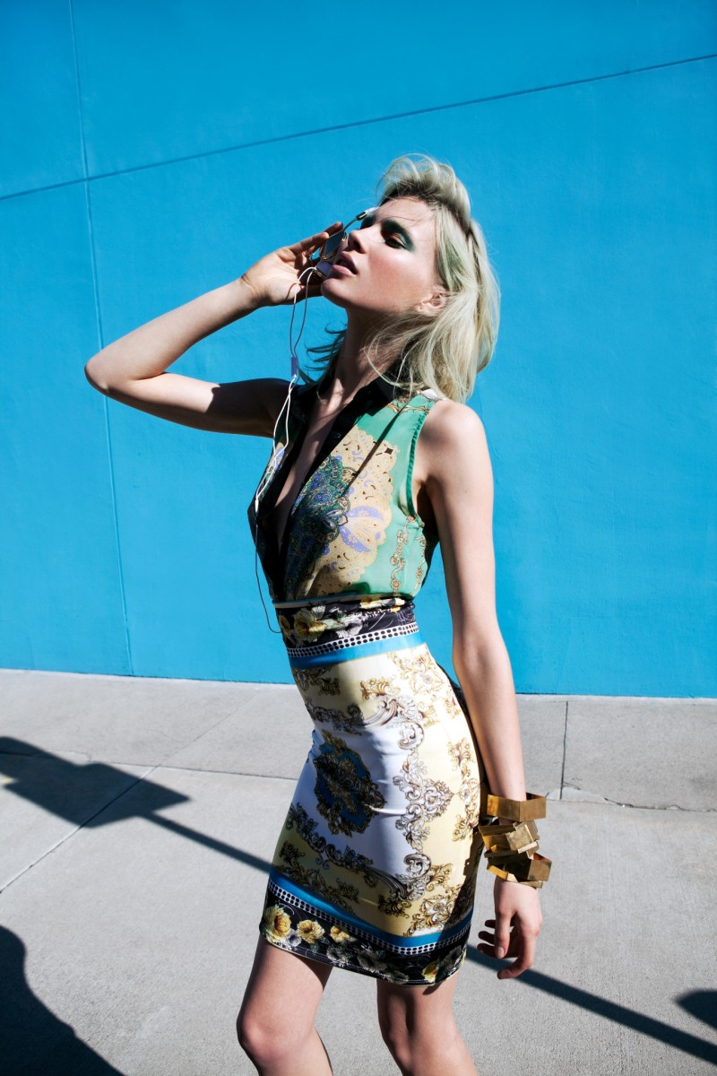 BrittMaren15 Britt Maren Rocks Psychedelic Style for Nasty Gals January 2013 Lookbook