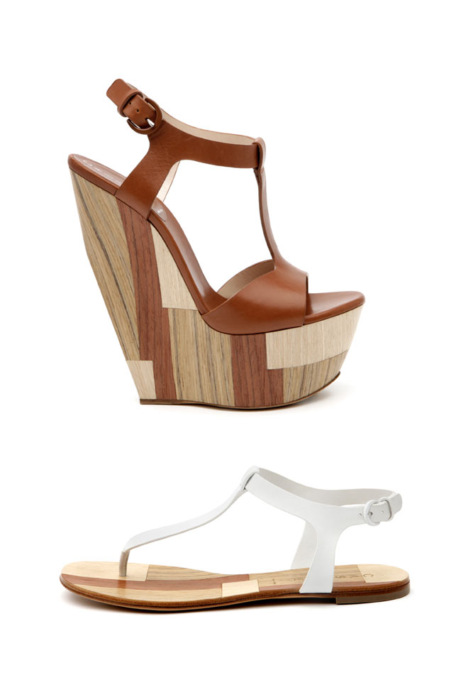 Casadei Spring/Summer 2013 Patchwood Collection