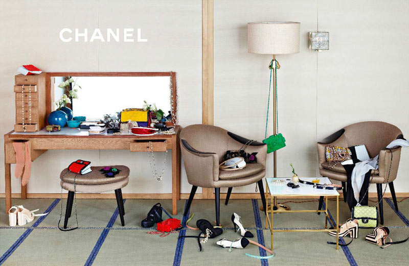 ChanelSpring3 Chanel Looks East for its Spring 2013 Campaign Starring Stella Tennant, Ondria Hardin and Yumi Lambert