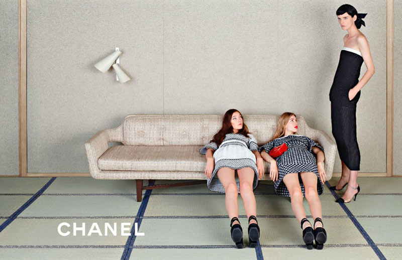 ChanelSpring5 Chanel Looks East for its Spring 2013 Campaign Starring Stella Tennant, Ondria Hardin and Yumi Lambert