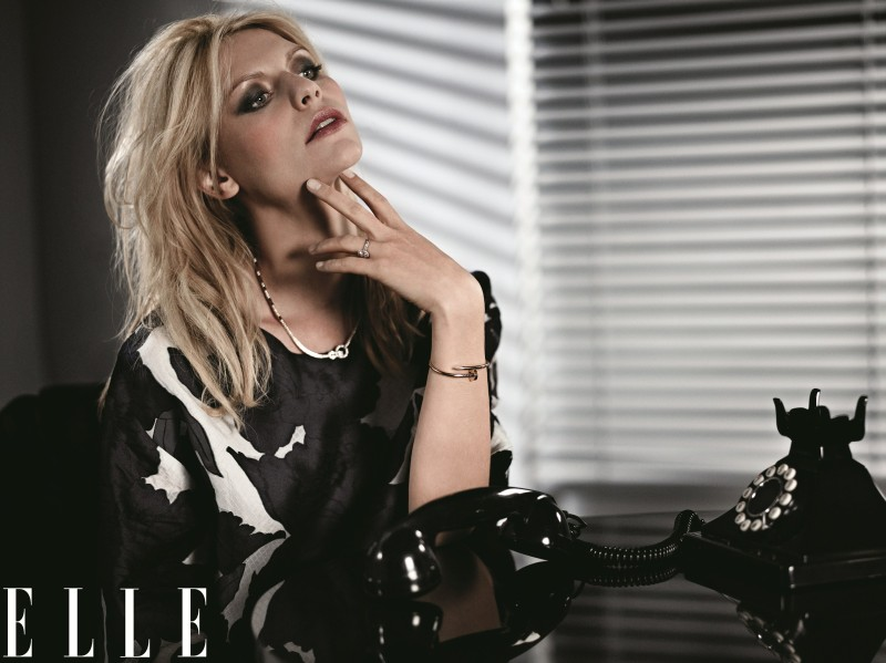 ClaireElle1 Claire Danes Graces the February 2013 Cover of Elle US