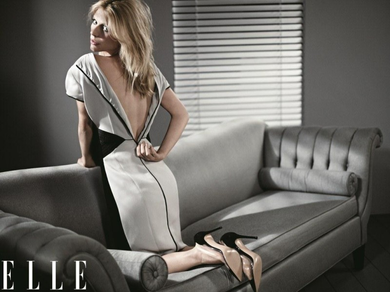ClaireElle2 Claire Danes Graces the February 2013 Cover of Elle US