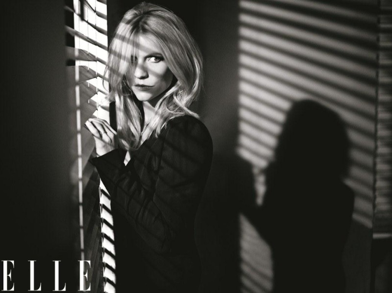ClaireElle3 Claire Danes Graces the February 2013 Cover of Elle US