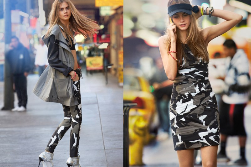 DKNYSpring15 Cara Delevingne is Techno Chic for DKNY Spring 2013 Campaign by Patrick Demarchelier