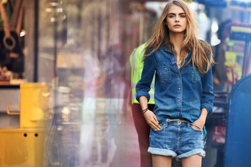 DKNYSpring2 Cara Delevingne is Techno Chic for DKNY Spring 2013 Campaign by Patrick Demarchelier