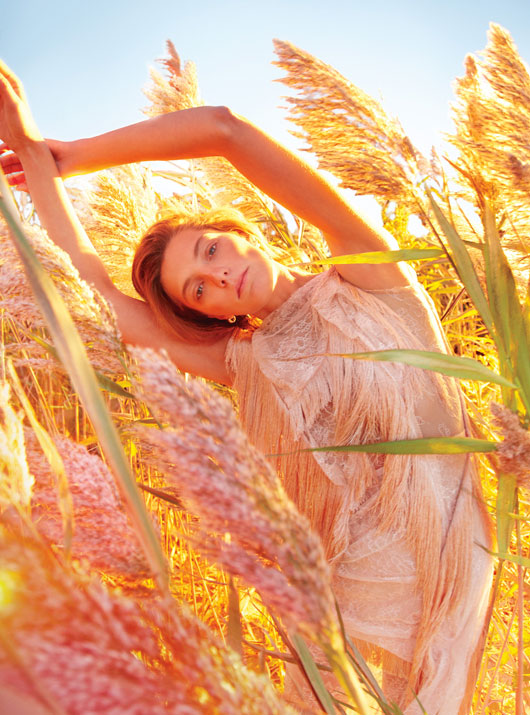 DariaEarthW3 Daria Werbowy is Heaven on Earth for W Magazines January Issue by Ryan McGinley