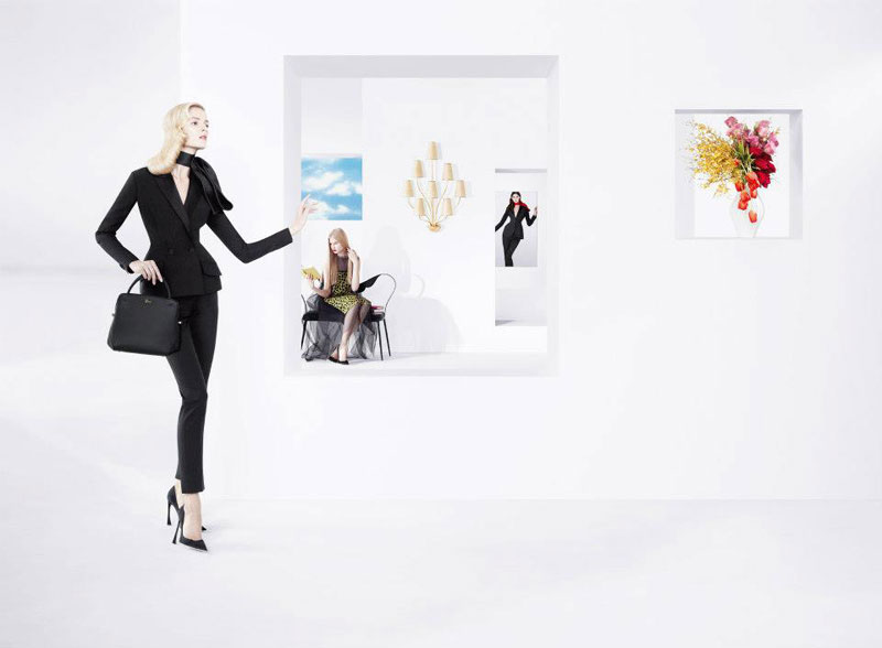 DiorSpring1 Dior Puts Daria Strokous, Daiane Conterato and Others on Display for its Spring 2013 Campaign by Willy Vanderperre