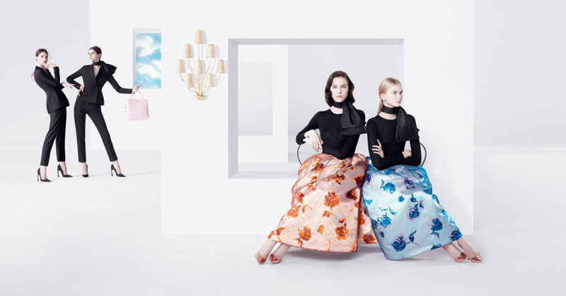 DiorSpring2 Dior Puts Daria Strokous, Daiane Conterato and Others on Display for its Spring 2013 Campaign by Willy Vanderperre