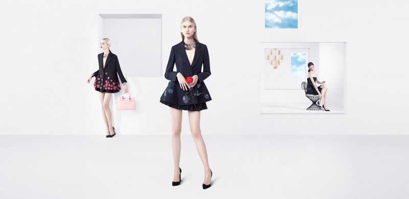 DiorSpring3 Dior Puts Daria Strokous, Daiane Conterato and Others on Display for its Spring 2013 Campaign by Willy Vanderperre
