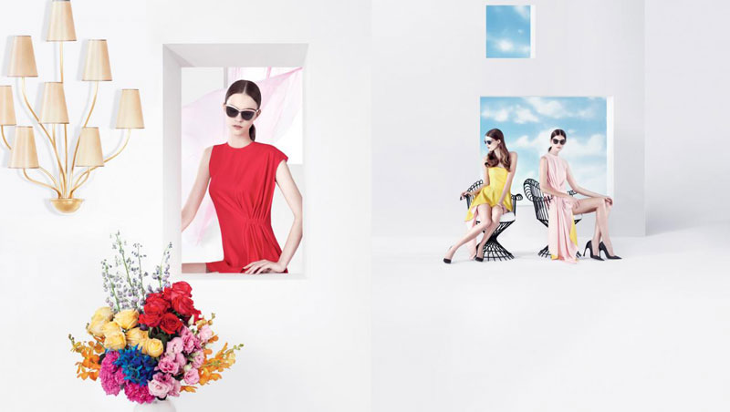 DiorSpring4 Dior Puts Daria Strokous, Daiane Conterato and Others on Display for its Spring 2013 Campaign by Willy Vanderperre