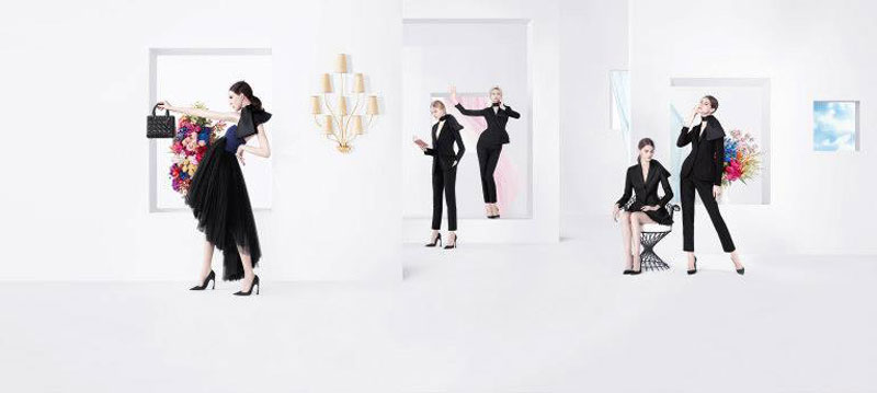 DiorSpring6 Dior Puts Daria Strokous, Daiane Conterato and Others on Display for its Spring 2013 Campaign by Willy Vanderperre