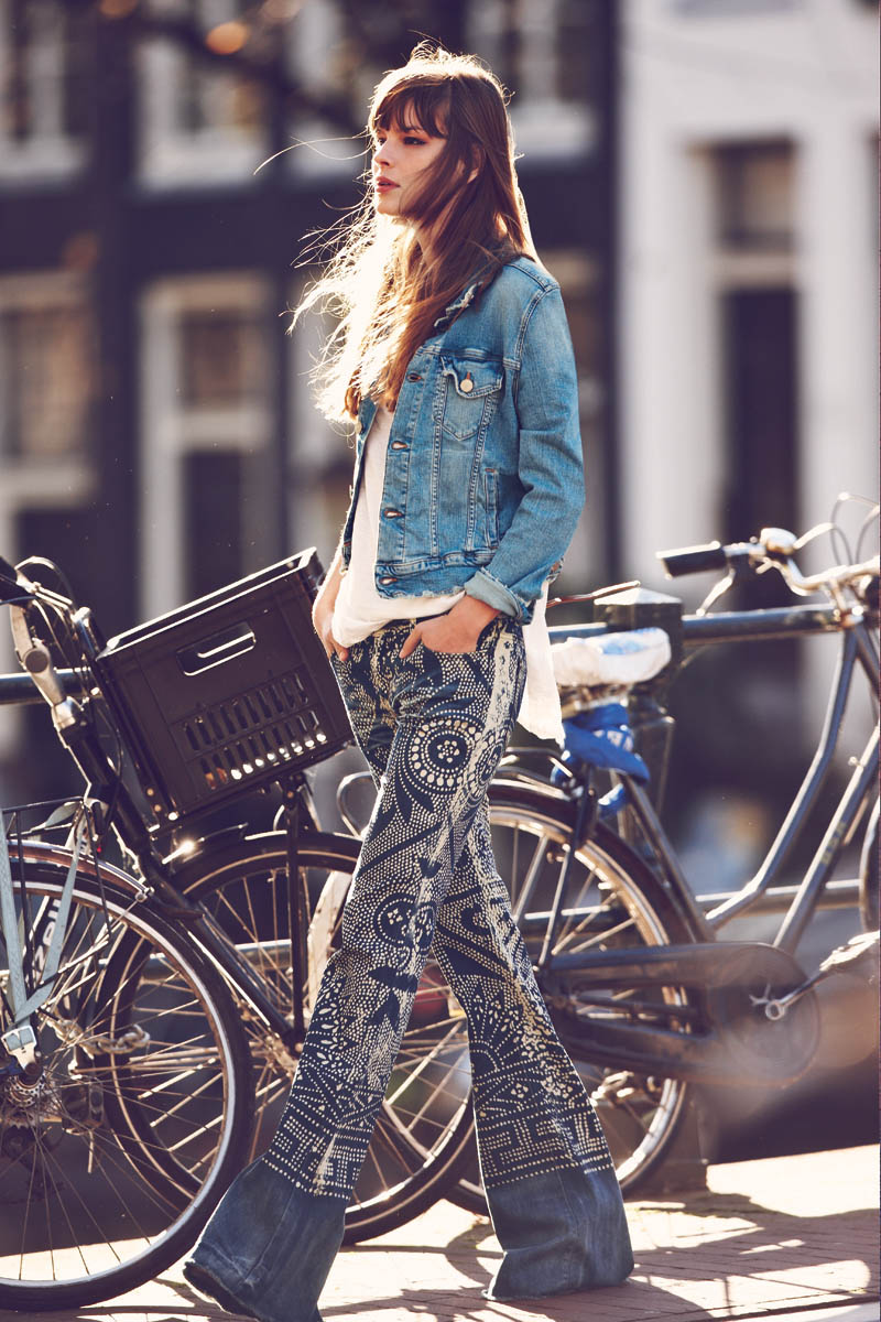FreeJanuary1 Free People Features Girls on Bikes for its January 2013 Catalogue