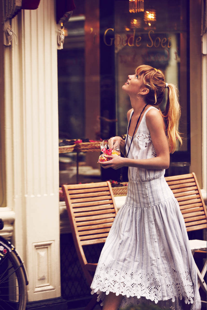 """Free People Features """"Girls on Bikes"""" for its January 2013 Catalogue"""