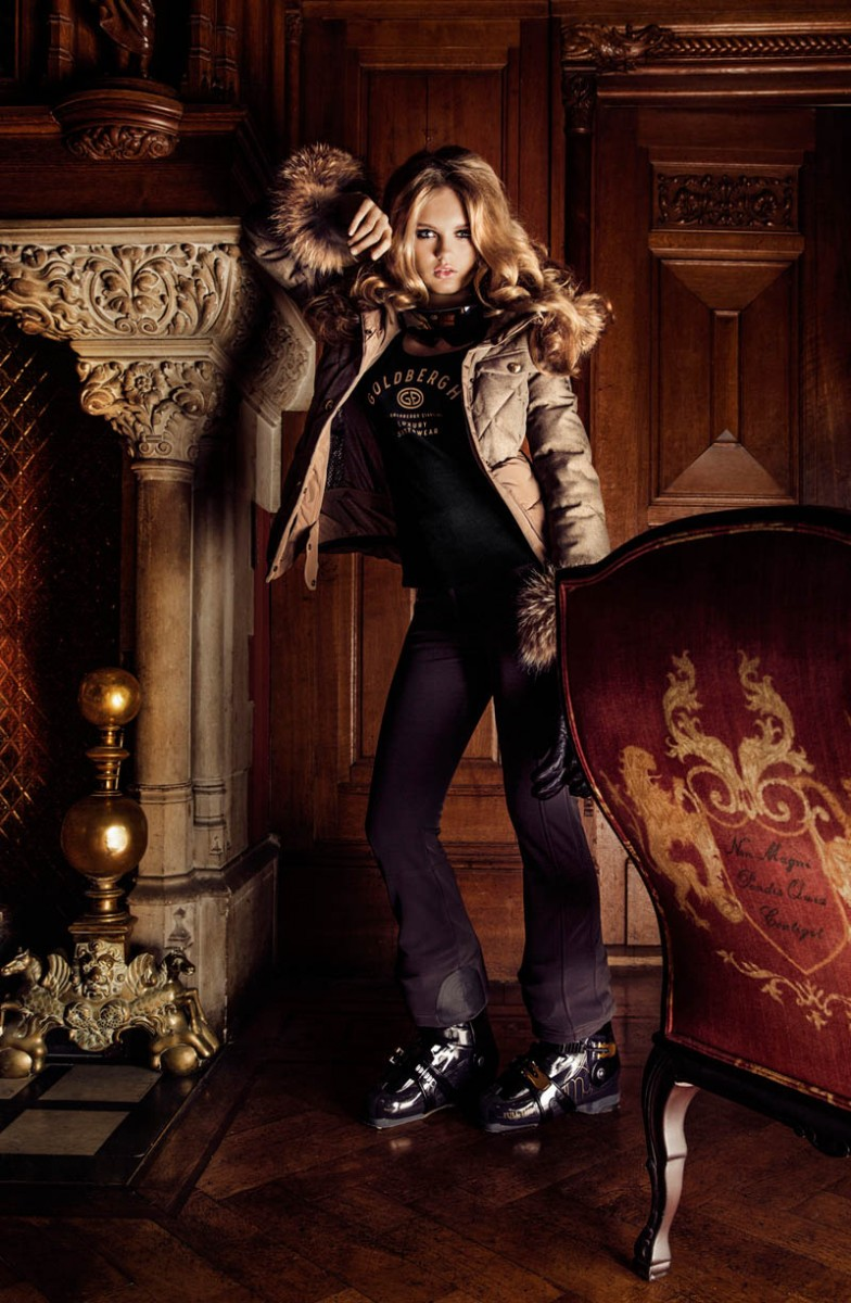 GOLDBERGHrgb03 784x1200 Romee Strijd is Chateau Chic for Goldberghs Fall 2013 Campaign