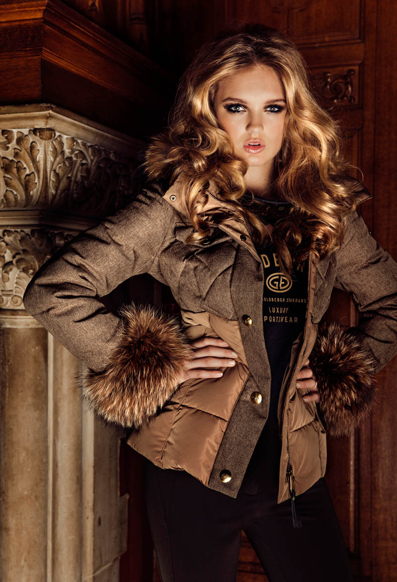 GOLDBERGHrgb04 Romee Strijd is Chateau Chic for Goldberghs Fall 2013 Campaign