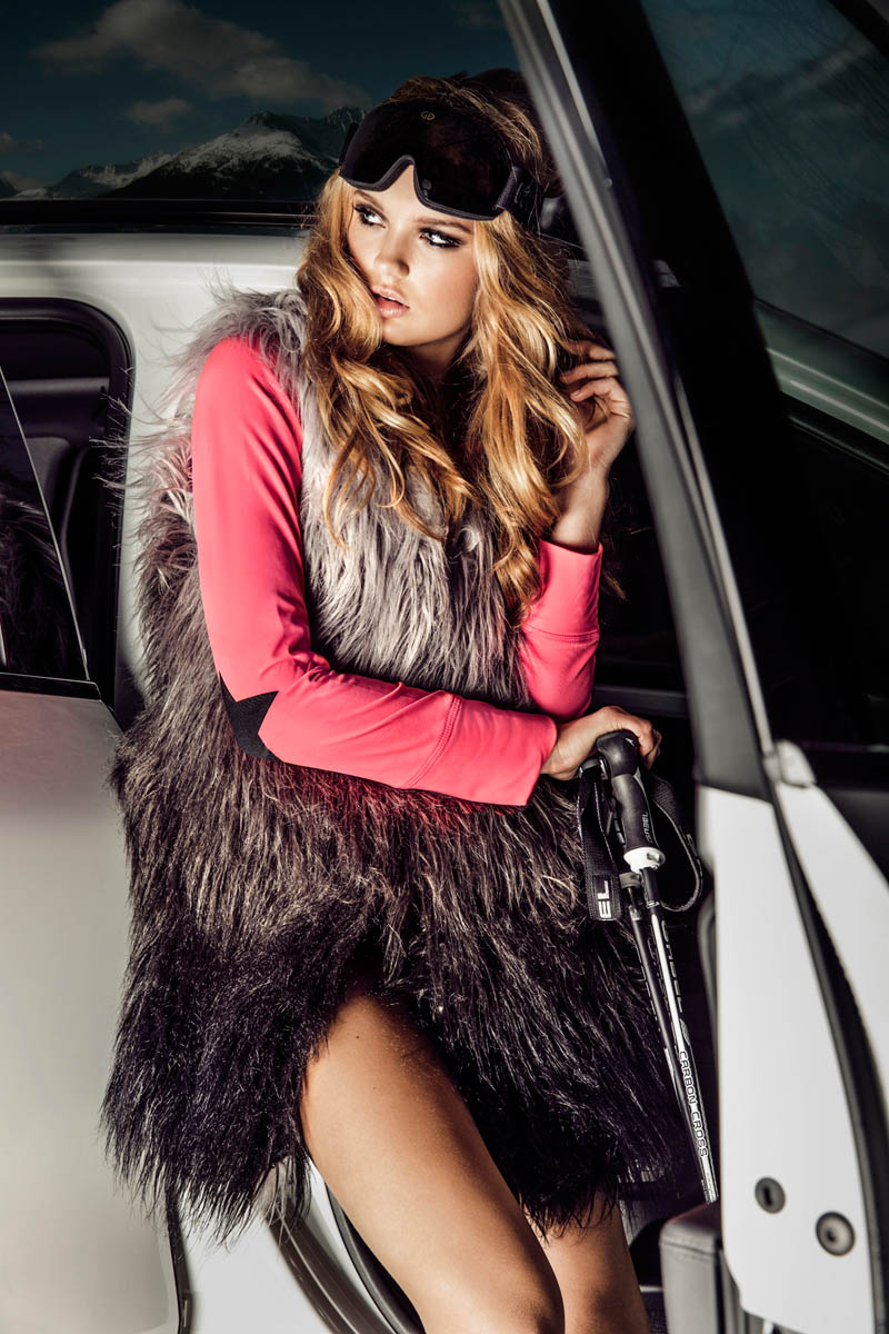 GOLDBERGHrgb06 Romee Strijd is Chateau Chic for Goldberghs Fall 2013 Campaign