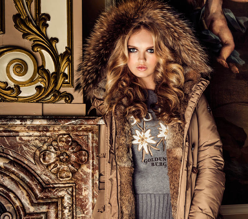 GOLDBERGHrgb09 Romee Strijd is Chateau Chic for Goldberghs Fall 2013 Campaign