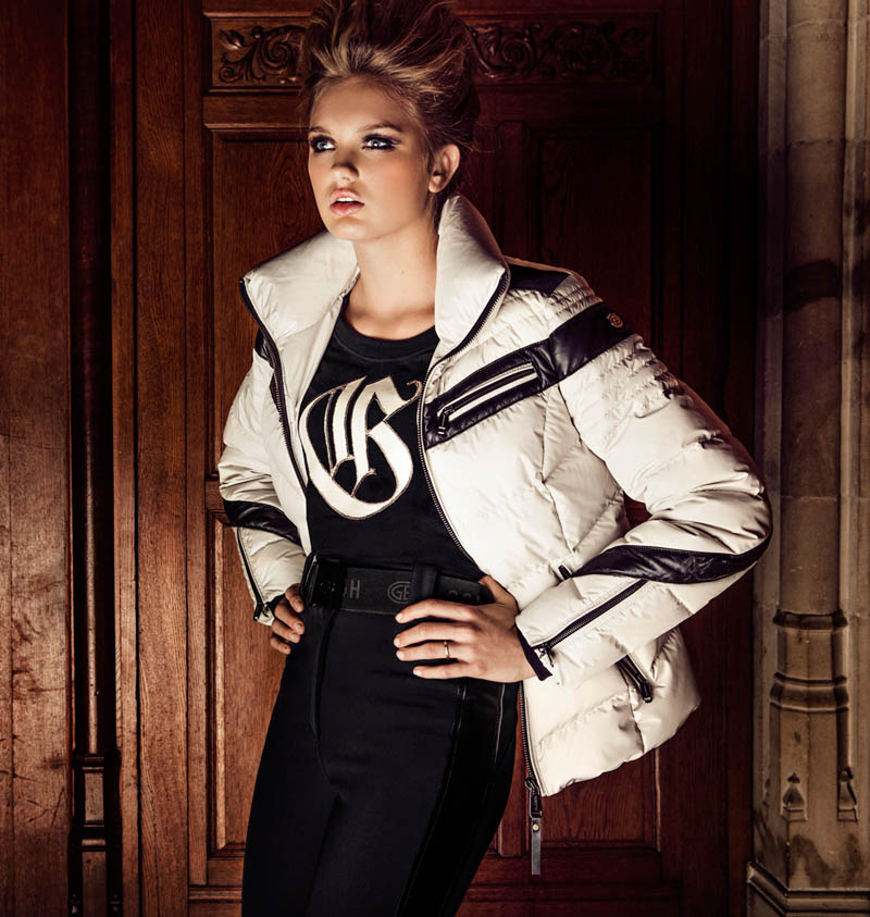 GOLDBERGHrgb12 Romee Strijd is Chateau Chic for Goldberghs Fall 2013 Campaign