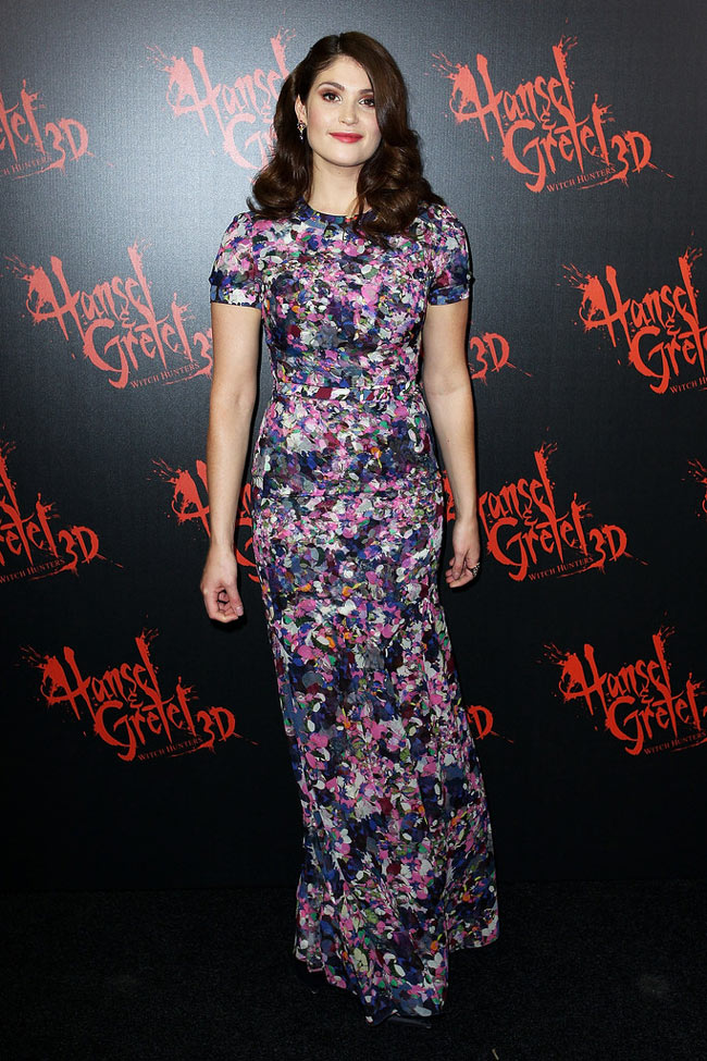 Gemma1 Gemma Arterton in Erdem at the Hansel & Gretel Witch Hunters Sydney Premiere