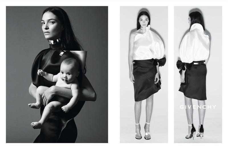 Kate Moss Joins Mariacarla Boscono and Marina Abramovic for Givenchy's Spring 2013 Campaign