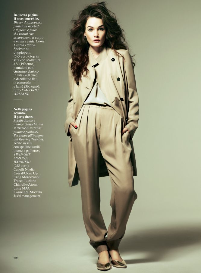 GlamourIT14 Jes Models Springs Key Pieces for Glamour Italy February 2013