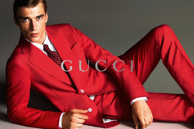 GucciCampaign10 Guccis Spring 2013 Campaign Stars Anja Rubik and Karmen Pedaru by Mert & Marcus