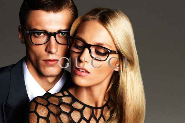 GucciCampaign14 Guccis Spring 2013 Campaign Stars Anja Rubik and Karmen Pedaru by Mert & Marcus