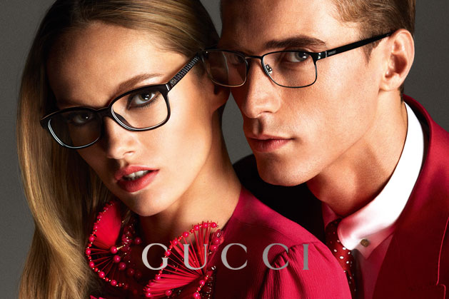 GucciCampaign15 Guccis Spring 2013 Campaign Stars Anja Rubik and Karmen Pedaru by Mert & Marcus