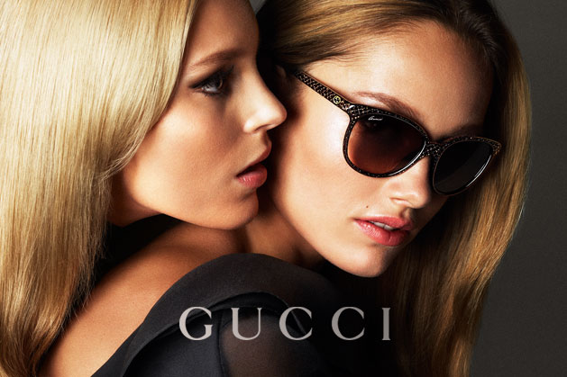 GucciCampaign17 Guccis Spring 2013 Campaign Stars Anja Rubik and Karmen Pedaru by Mert & Marcus