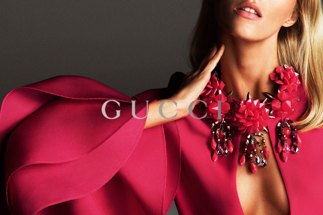 GucciCampaign19 Guccis Spring 2013 Campaign Stars Anja Rubik and Karmen Pedaru by Mert & Marcus
