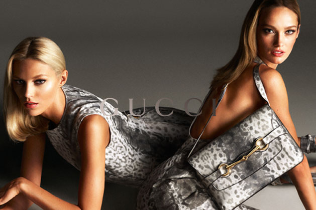 GucciCampaign5 Guccis Spring 2013 Campaign Stars Anja Rubik and Karmen Pedaru by Mert & Marcus